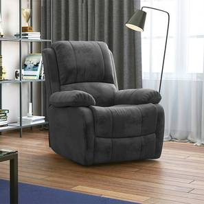 Tribbiano one seater recliner sofa grey replace 1