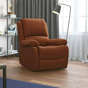 Tribbiani one seater recliner sofa tan replace 1