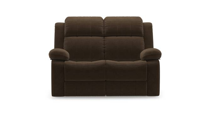 Robert Two Seater Recliner Sofa (Carafe Brown Fabric) by Urban Ladder