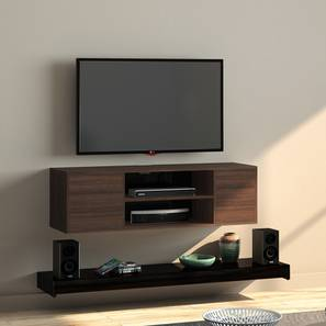 "Astrid 47"" TV Unit (Black) by Urban Ladder"