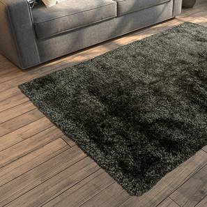 "Linton Shaggy Rug (Grey, 152 x 91 cm  (60"" x 36"") Carpet Size) by Urban Ladder - Design 1 Full View - 160533"
