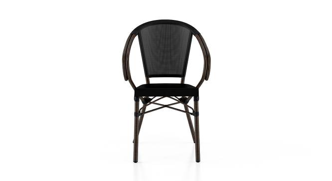 Cirali Patio Chair (Black) by Urban Ladder
