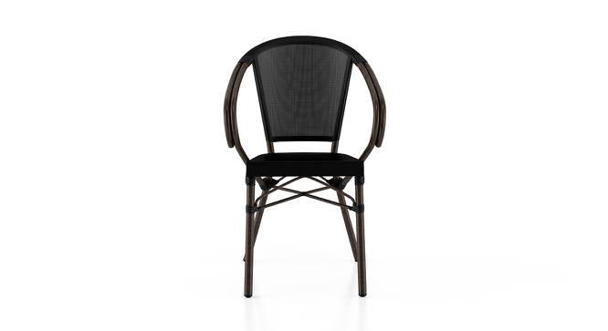 Cirali Patio Chair (Black) by Urban Ladder