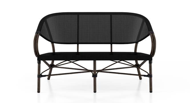 Cirali 2 Seater Chair (Black) by Urban Ladder