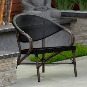Cirali 1 Seater Chair (Black) by Urban Ladder