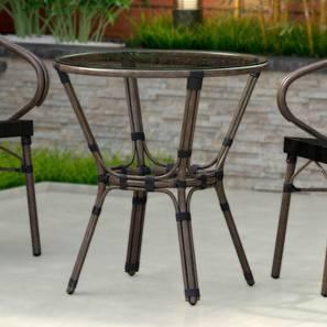 Cirali patio table black lp