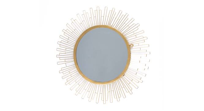 Slonce Wall Mirror (Round Mirror Shape) by Urban Ladder - Front View Design 1 - 161126