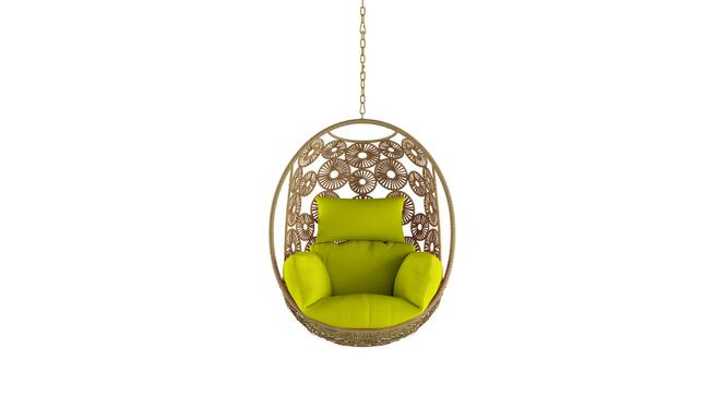 Kyodo Swing Chair With Long Chain (Green) by Urban Ladder