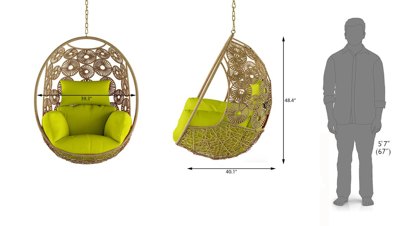 Kyodo swing chair with long chain 9