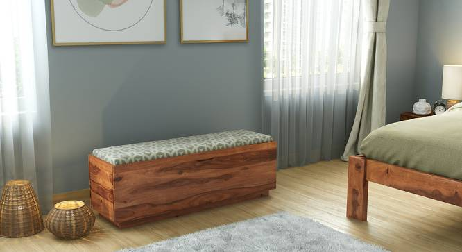 Zephyr Blanket Box (Teak Finish) by Urban Ladder - Design 1 Full View - 161199
