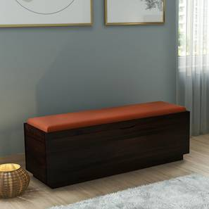 Zephyr Blanket Box (Mahogany Finish) by Urban Ladder - Design 1 Full View - 161206