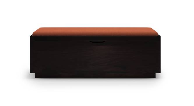 Zephyr Blanket Box (Mahogany Finish) by Urban Ladder - Front View Design 1 - 161207