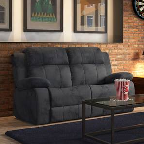Robert Two Seater Recliner Sofa (Grey Fabric) by Urban Ladder - Design 1 Full View - 161248