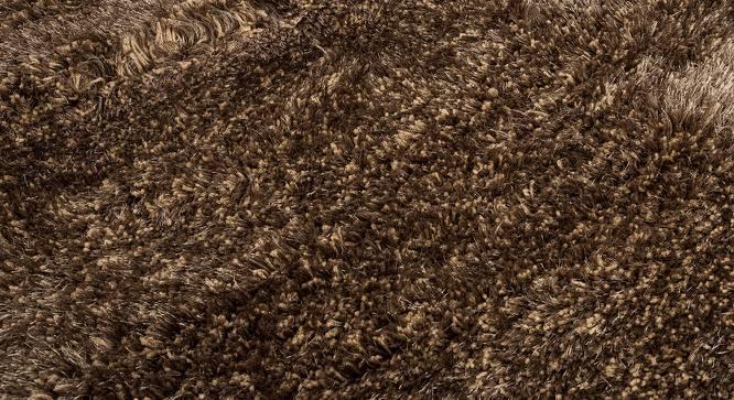 "Linton Shaggy Rug (Beige, 60"" x 36"" Carpet Size) by Urban Ladder"
