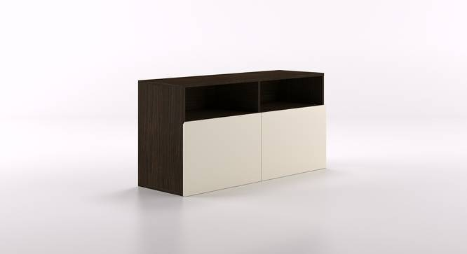 Henson TV Unit (Compact Size, Cabinet Base Unit Config) by Urban Ladder - Cross View Design 1 - 161432
