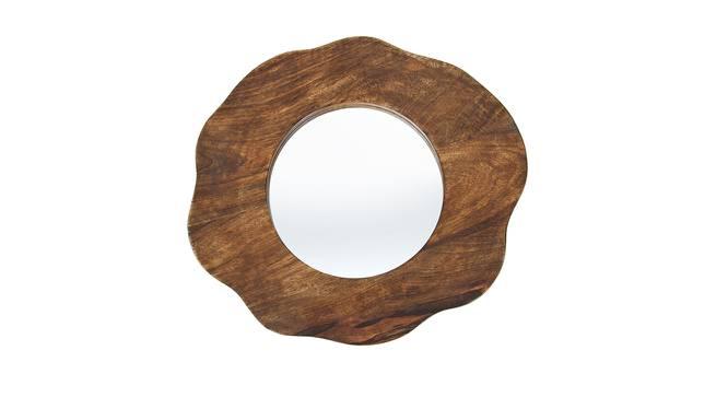 Tess Wall Mirror (Round Mirror Shape, Medium Mirror_Size) by Urban Ladder