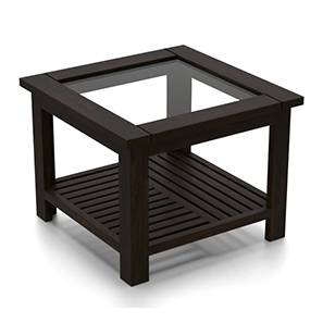 Claire Coffee Table (Mahogany Finish, Compact Size) by Urban Ladder - Picture - 161552