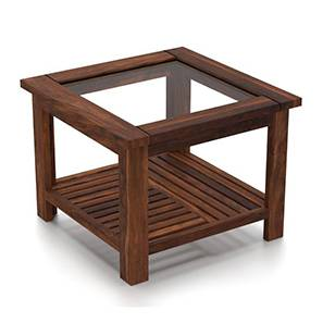 Claire Coffee Table (Teak Finish, Compact Size) by Urban Ladder - Pic - 161567