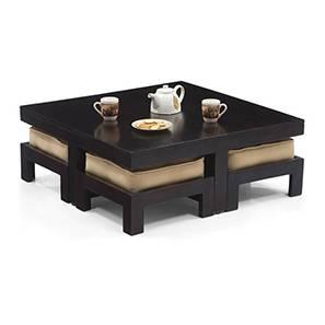 Kivaha 4 seater table coffee set beige 50