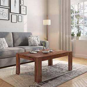 Striado coffee table teak without shelves 89