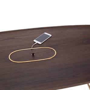 Mej Coffee Table (Teak Finish) by Urban Ladder
