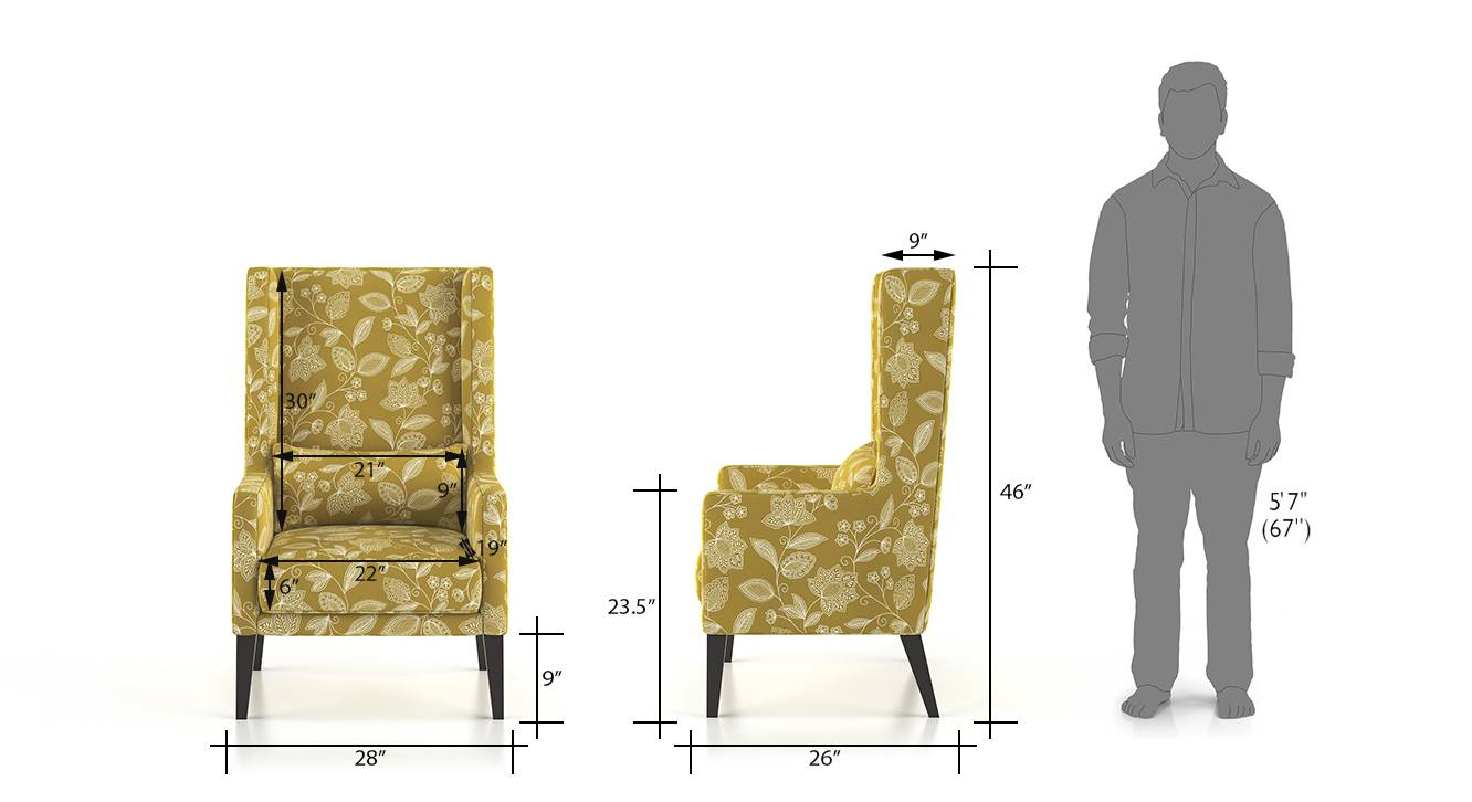 Morgen wing chair olive 7