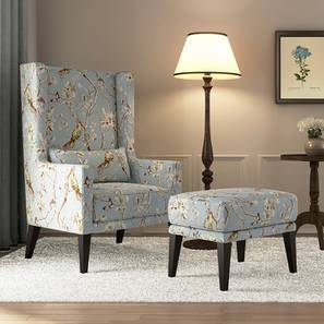 Morgen wing chair with ottoman nightingale lp