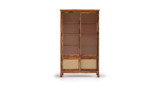 Fujiwara Display Cabinet (Teak Finish) by Urban Ladder
