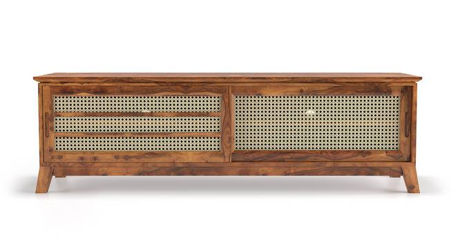 Fujiwara TV Unit (Teak Finish) by Urban Ladder
