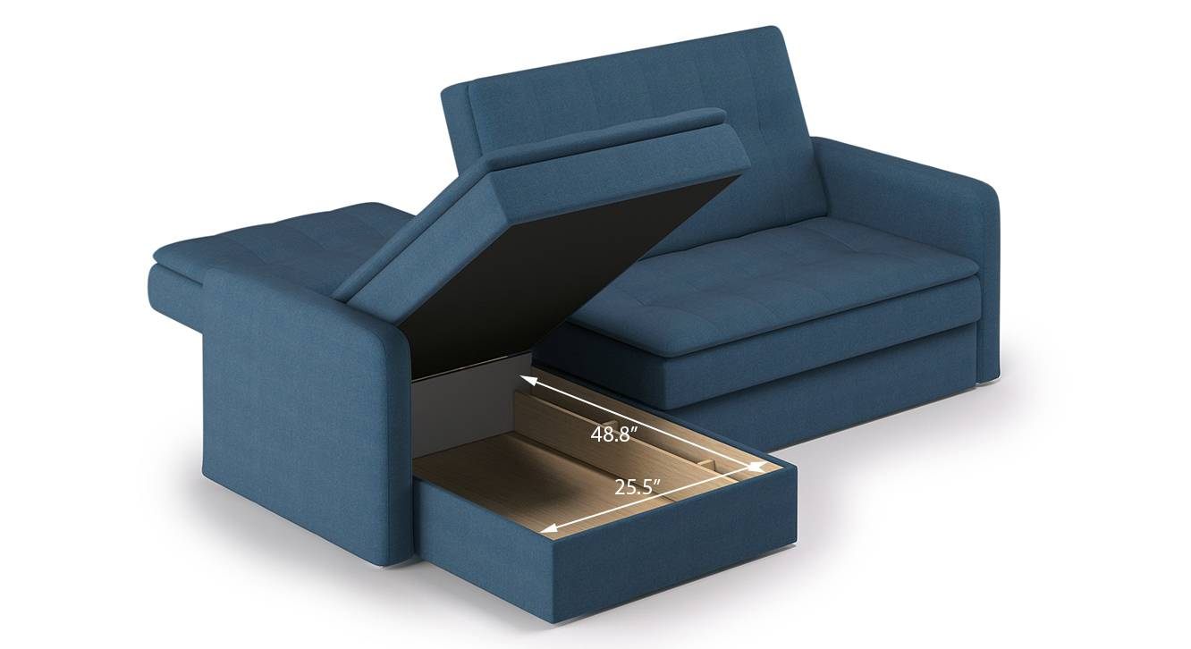 Peckham sectional sofa cum bed blue with ottoman revised 7