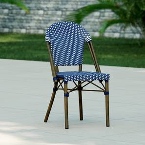 Kea Patio Chair (Brown) by Urban Ladder - Front View Design 1 - 162614