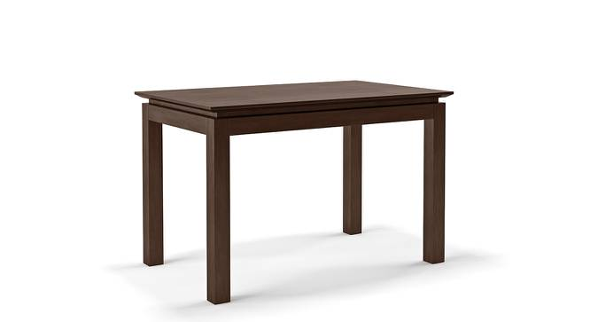 Diner 4 Seater Dining Table (Dark Walnut Finish) by Urban Ladder