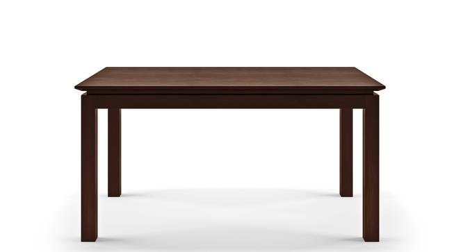 Diner 6 Seater Dining Table (Dark Walnut Finish) by Urban Ladder - Front View Design 1 - 163021