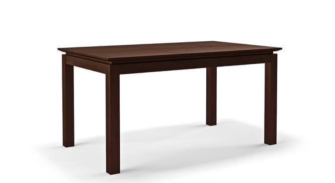 Diner 6 Seater Dining Table (Dark Walnut Finish) by Urban Ladder - Cross View Design 1 - 163022