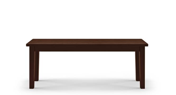 Diner Dining Bench (Dark Walnut Finish) by Urban Ladder - Front View Design 1 - 163061