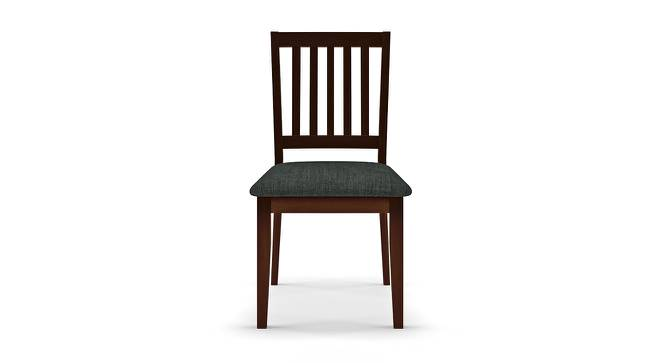 Diner Dining Chairs - Set of 2 (With Upholstery) (Dark Walnut Finish) by Urban Ladder - Front View Design 1 - 163068