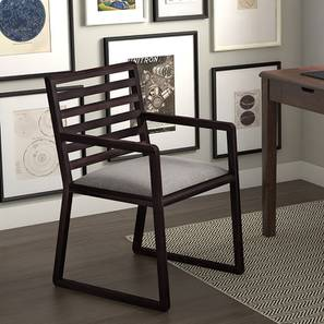 Hawley Study Chair (Mahogany Finish) by Urban Ladder - Design 1 Full View - 163211