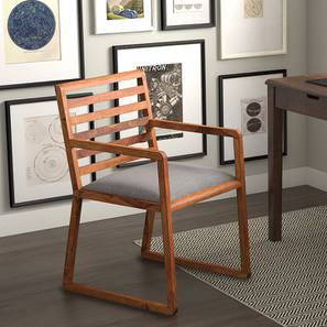 Hawley Study Chair (Teak Finish) by Urban Ladder