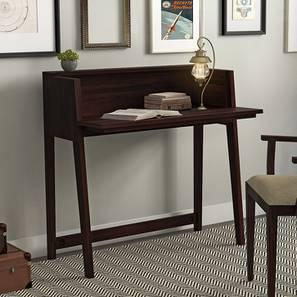 Rowling Compact Desk (Mahogany Finish) by Urban Ladder