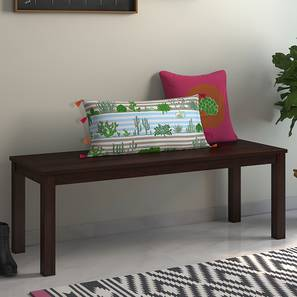 Capra Bench (Mahogany Finish) by Urban Ladder - - 37636