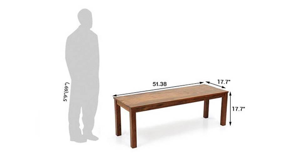 Capra bench teak 21