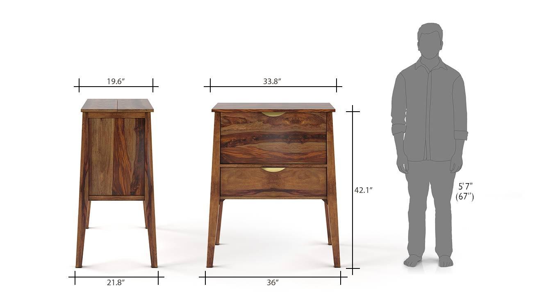 Swanson bar cabinet teak 6