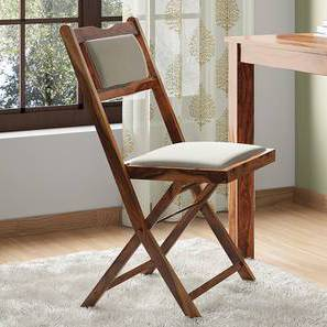 Axis Folding Chair (Teak Finish) by Urban Ladder - Design 1 Full View - 164216