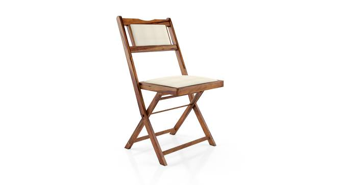 Axis Folding Chair (Teak Finish) by Urban Ladder