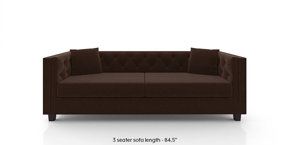 Windsor Sofa (Dark Earth) by Urban Ladder