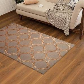 "Timur Hand Tufted Carpet (152 x 244 cm  (60"" x 96"") Carpet Size) by Urban Ladder - Design 1 - 169395"