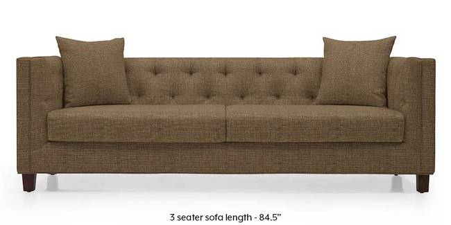 Windsor Sofa (Dune Brown) (Dune, Fabric Sofa Material, Regular Sofa Size, Regular Sofa Type)