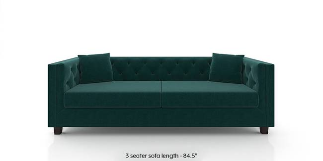 Windsor Sofa (Malibu Blue) (Fabric Sofa Material, Regular Sofa Size, Malibu, Regular Sofa Type)