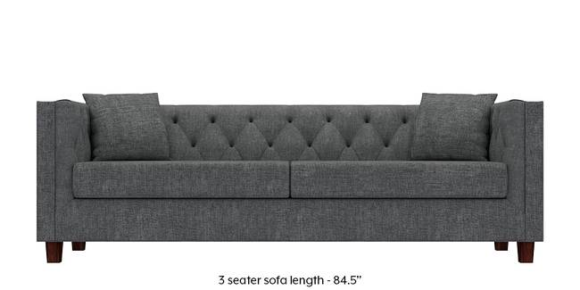 Windsor Sofa (Smoke Grey) (Smoke, Fabric Sofa Material, Regular Sofa Size, Regular Sofa Type)