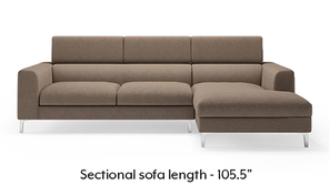 Chelsea Adjustable Sectional Sofa (Brown)